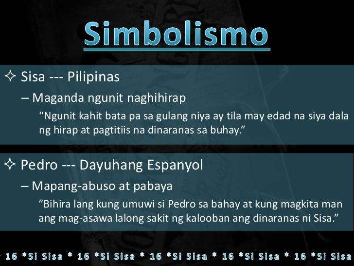 mga tauhan ng noli me tangere at kanilang simbolismo Ang el filibusterismo ay ang sumunod na libro pagkatapos ng noli me tangere  mga tauhan  pinuno ng pamahalaan simbolismo.