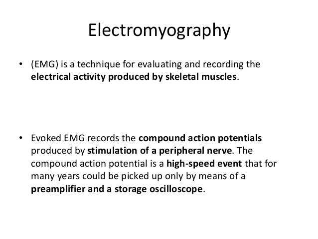 Acceleromyograph • Is a piezoelectric myograph, used to measure the force produced by a muscle after it has undergone nerv...