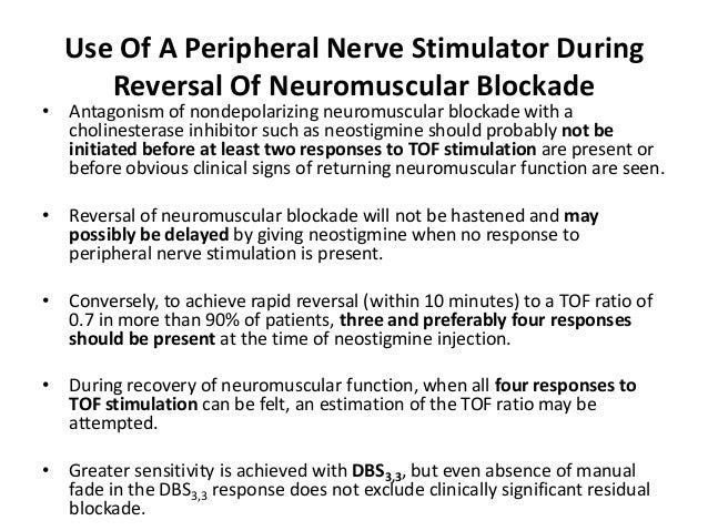 Neuromuscular Monitoring by Dr Rajeev Ujjwal