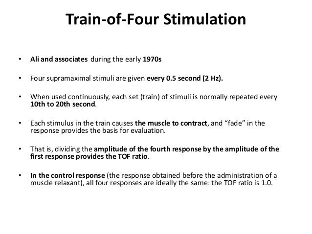 Tetanic Stimulation • Tetanic stimulation consists of very rapid (e.g., 30-, 50-, or 100-Hz) delivery of electrical stimul...