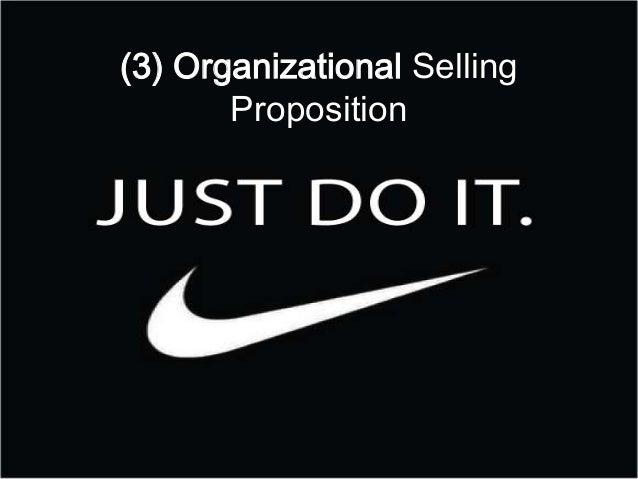 (3) Organizational SellingProposition
