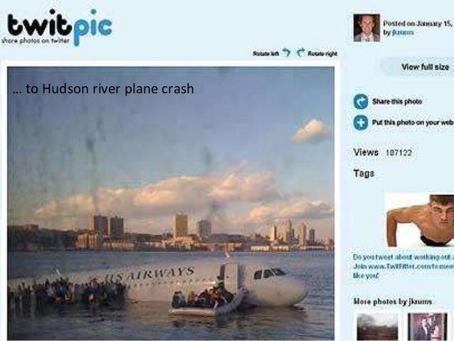 Information flowTo running… to Hudson river plane crash