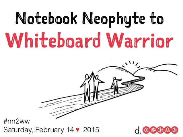 #nn2ww Saturday, February 14 ♥ 2015 Notebook Neophyte to Whiteboard Warrior