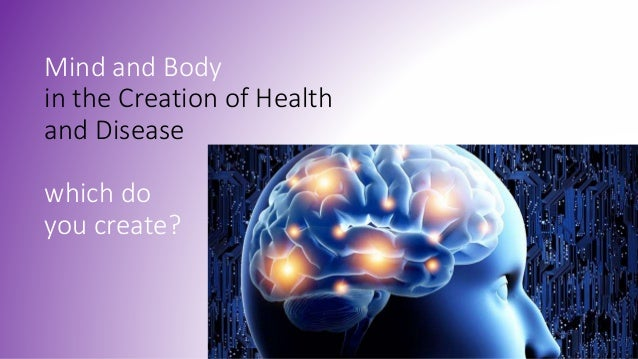 mind and body Nih medlineplus the magazine, the mind-body connection - emotions and health.