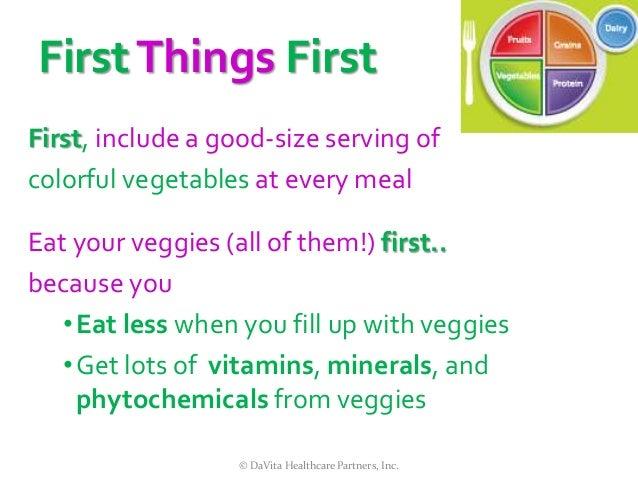 DaVita -Celebrating National Nutrition Month ® 2014