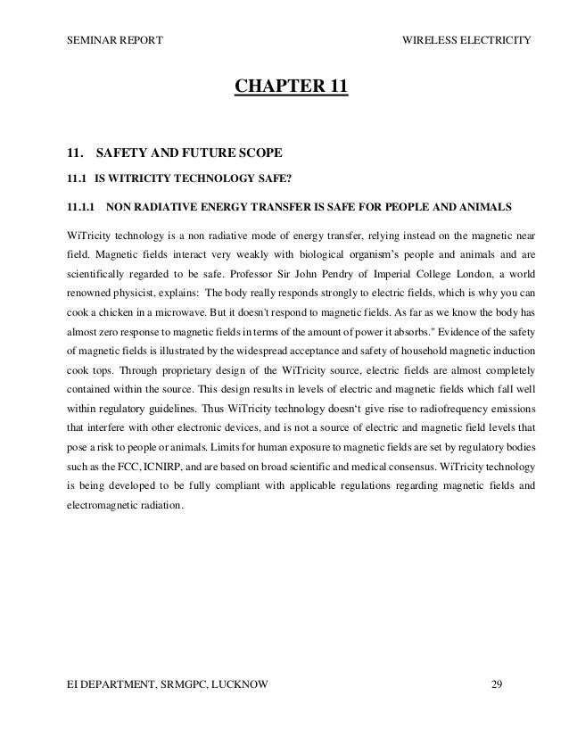 witricity case essay A witricity system consists of a witricity transmitter and another device called the receiver the receiver works on the same principle as radio receivers where the device has to be in the range of the transmitter.