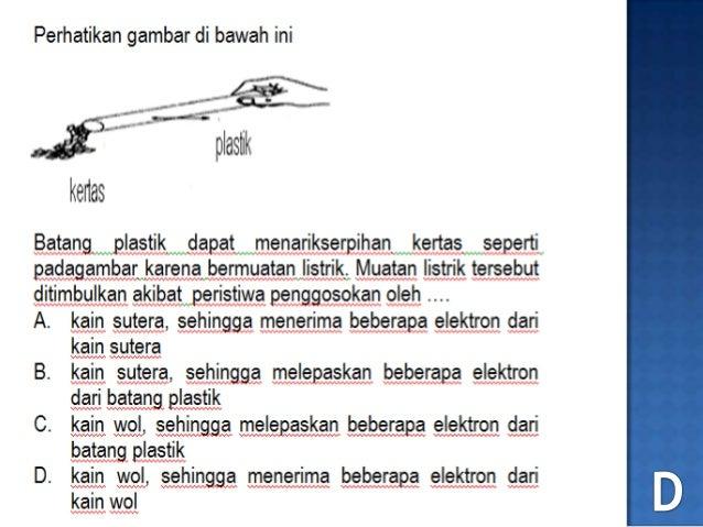 No.12 soal un 2012 fisika listrik statis