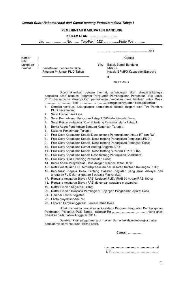 contoh surat permohonan pencairan garansi bank surat 6