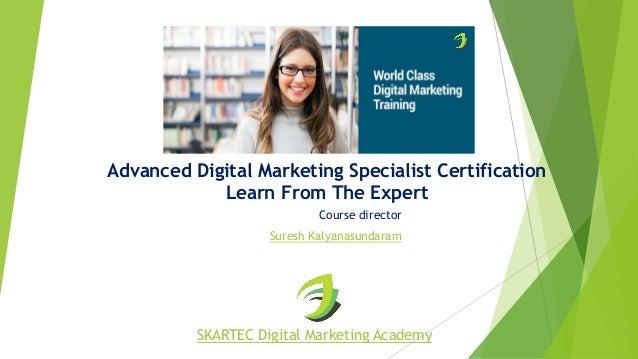 No.1 Digital Marketing Course in Chennai - SKARTEC