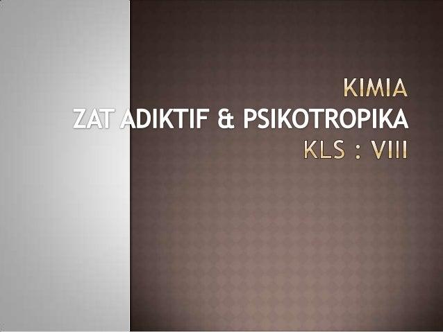 No 22 Soal Un 2012 Kimia Zat Adiktif Amp Psikotropika