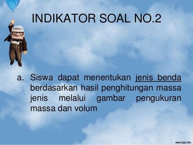 No 2 Soal Un 2012 Fisika Massa Jenis