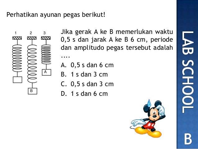No 9 Soal Un 2012 Fisika Getaran Amp Gelombang