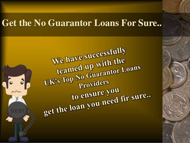 Loans You Don'T Need A Guarantor