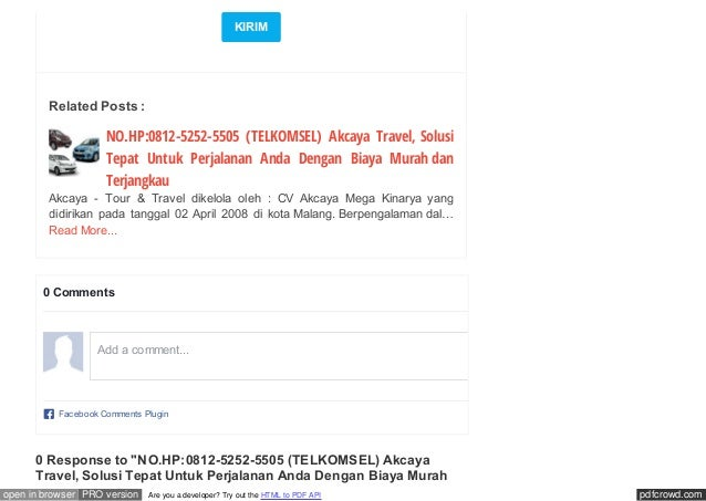 pdfcrowd.comopen in browser PRO version Are you a developer? Try out the HTML to PDF API KIRIM NO.HP:0812-5252-5505 (TELKO...