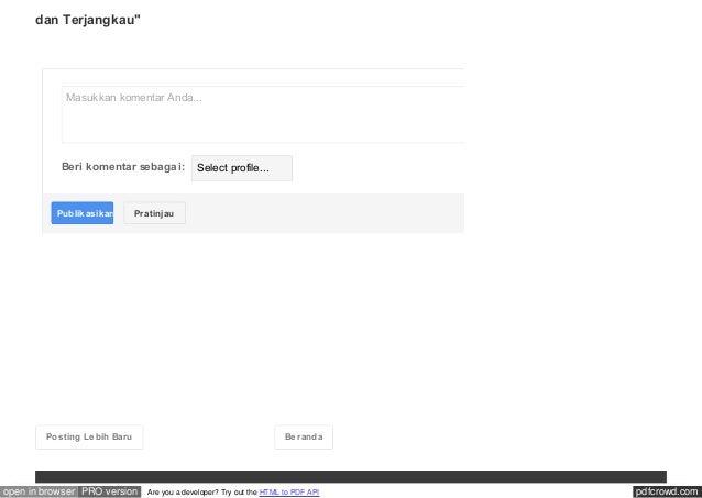 pdfcrowd.comopen in browser PRO version Are you a developer? Try out the HTML to PDF API Posting Lebih Baru Beranda Masukk...