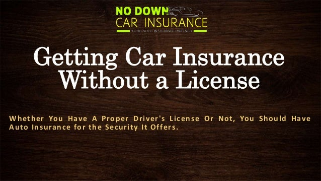 cheap car insurance without drivers license – know about getting car …