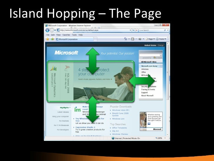 No Silverlight Application Is an Island of Richness Slide 3