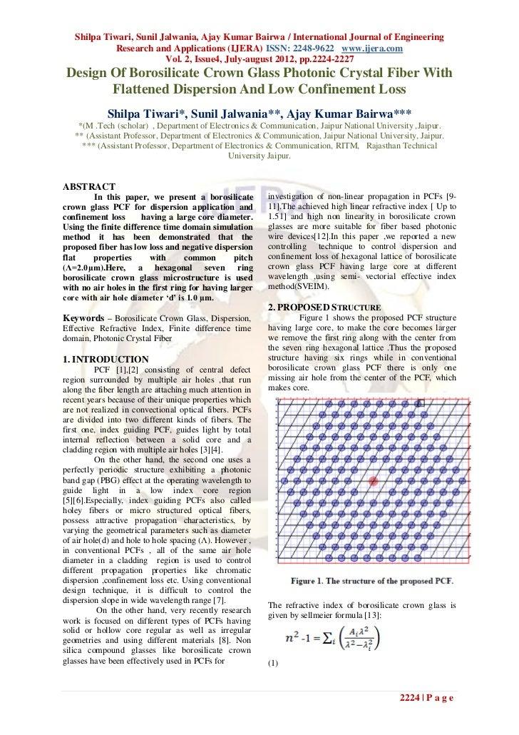 Shilpa Tiwari, Sunil Jalwania, Ajay Kumar Bairwa / International Journal of Engineering             Research and Applicati...