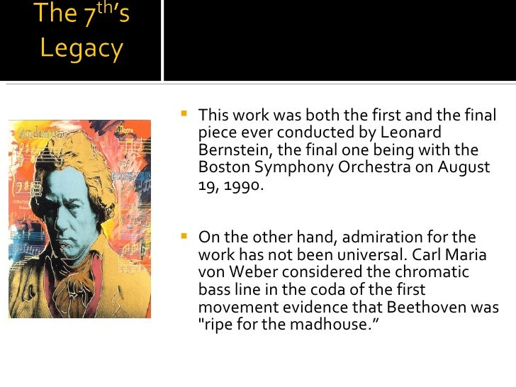 <ul><li>This work was both the first and the final piece ever conducted by Leonard Bernstein, the final one being with the...
