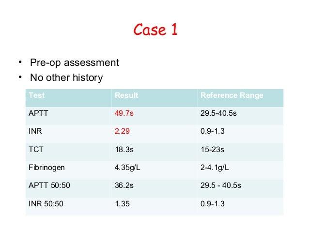 normal pt inr lab values how do you diagnose pulmonary embolism