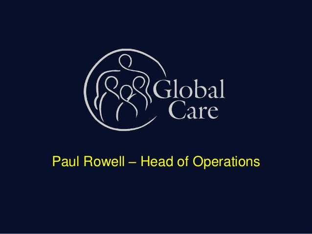 Paul Rowell – Head of Operations