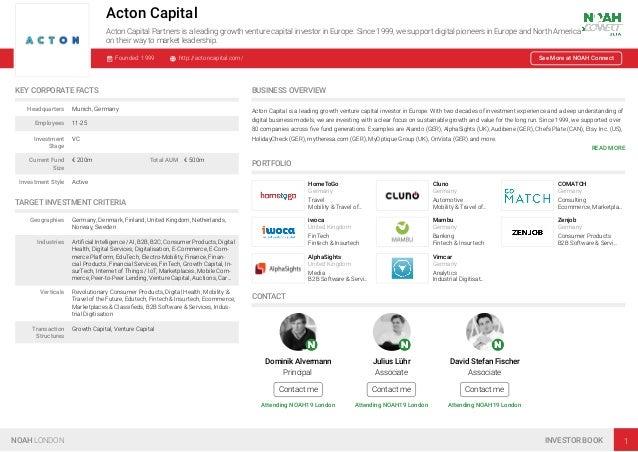 NOAH19 London Investor Book Slide 2