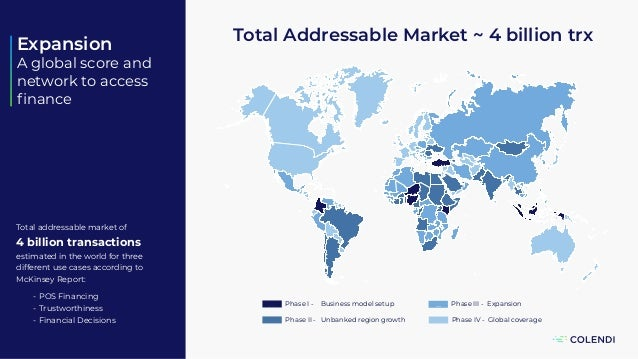 z Phase IV - Global coverage v Phase III - Expansion Phase II - Unbanked region growth Phase I - Business model setup v v ...
