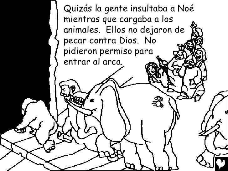 Noah and the great flood spanish cb