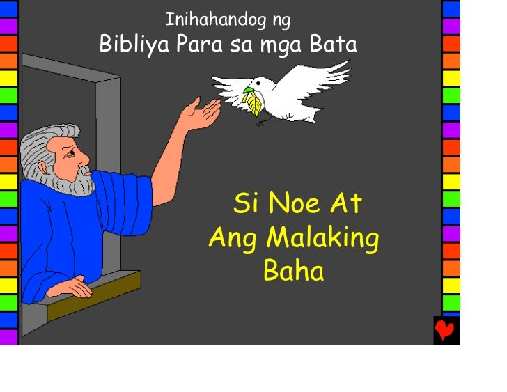 Author/nu >> Noah and the great flood tagalog