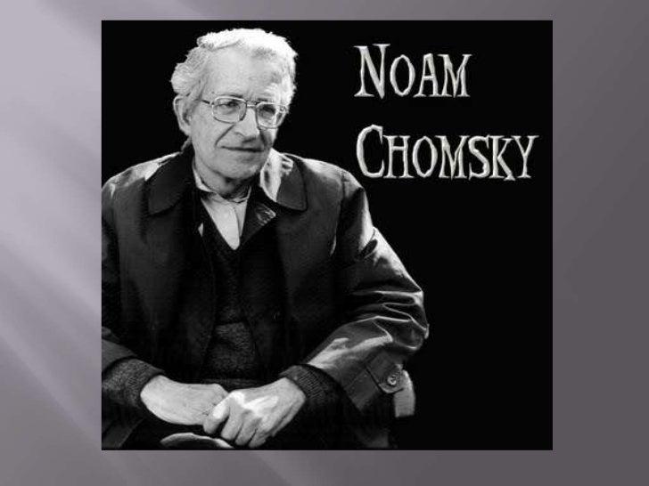 Noam chomsky essayscorer