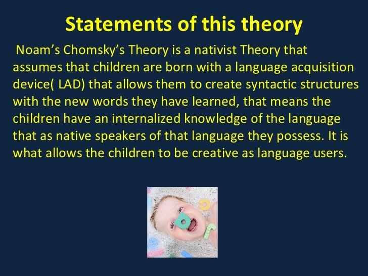 lad chomsky