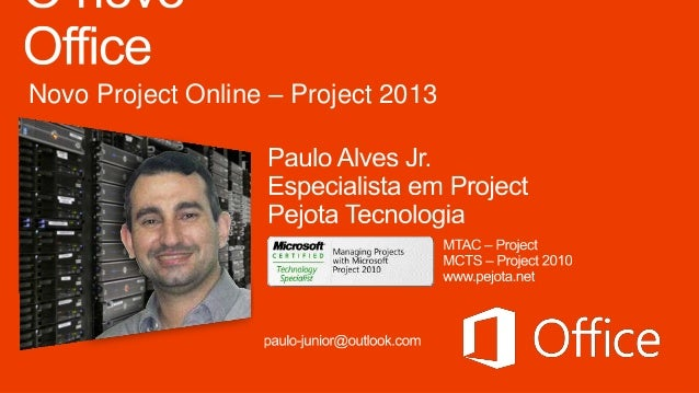 Novo Project Online – Project 2013