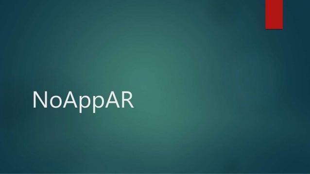 NoAppAR