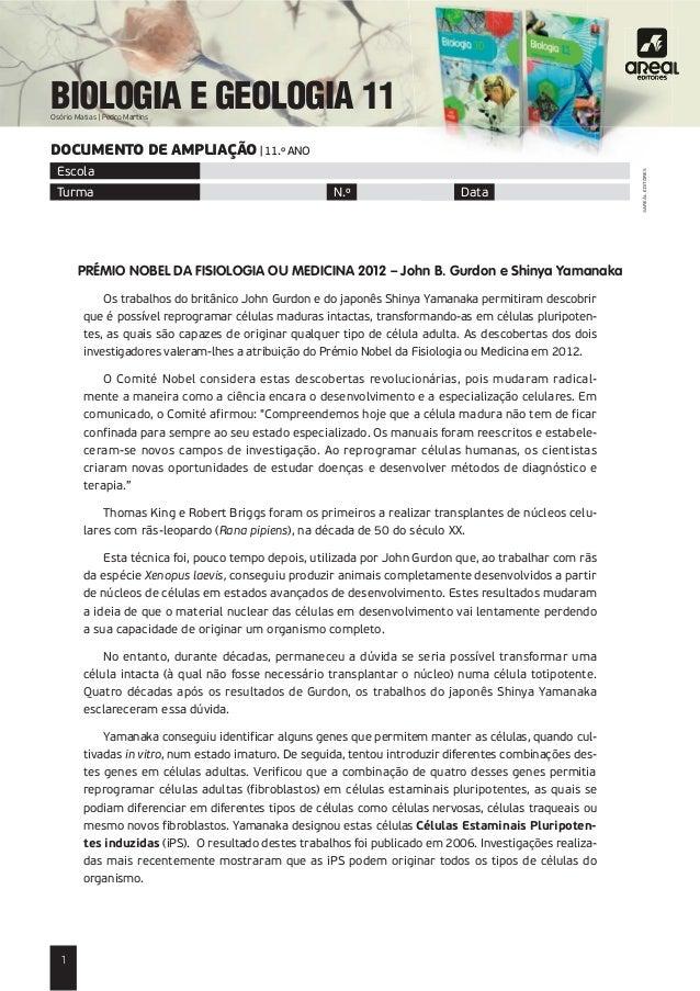 BIOLOGIA E GEOLOGIA 11                                                                                                    ...