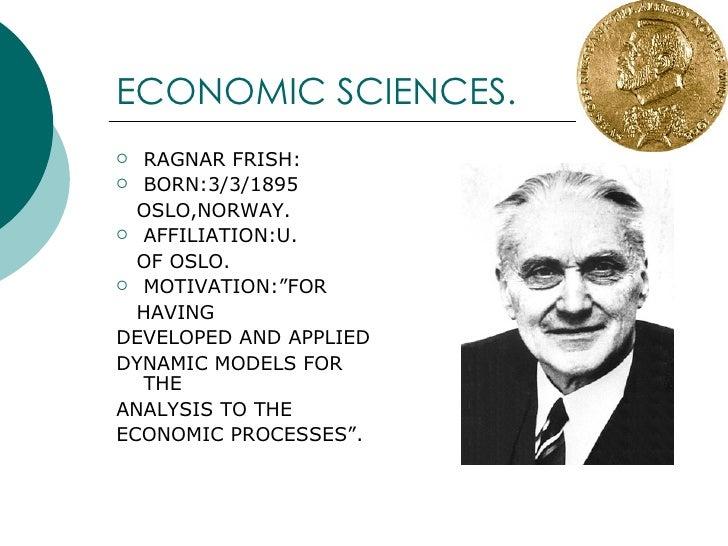 NOBEL PRIZE - ECONOMIC SCIENCES  (Part 2) Slide 3