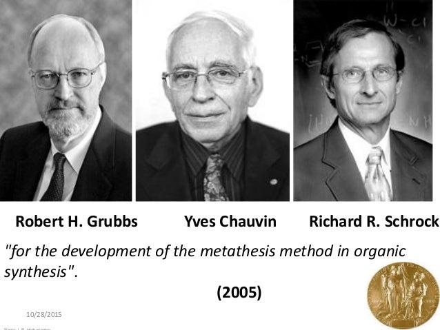 metathesis nobel prize