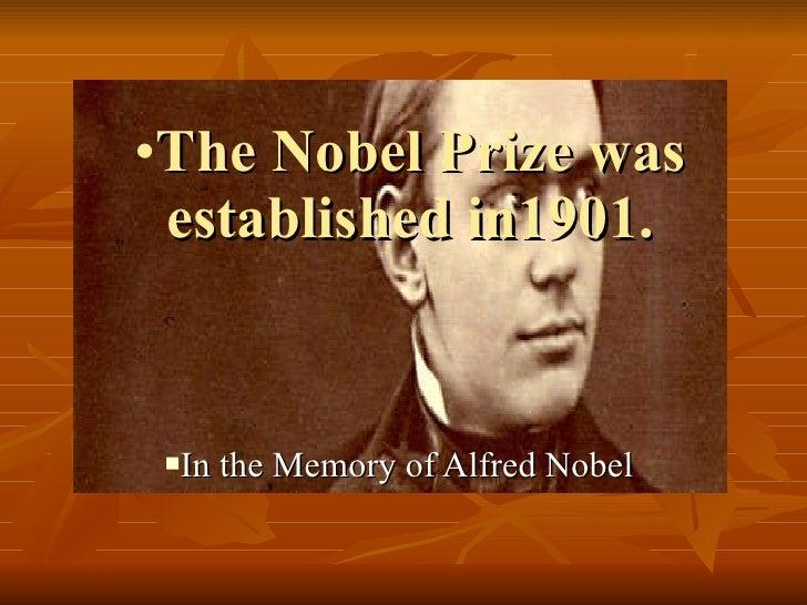 Nobel Prize Slide 2