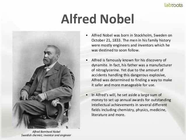 alfred nobel early life and education