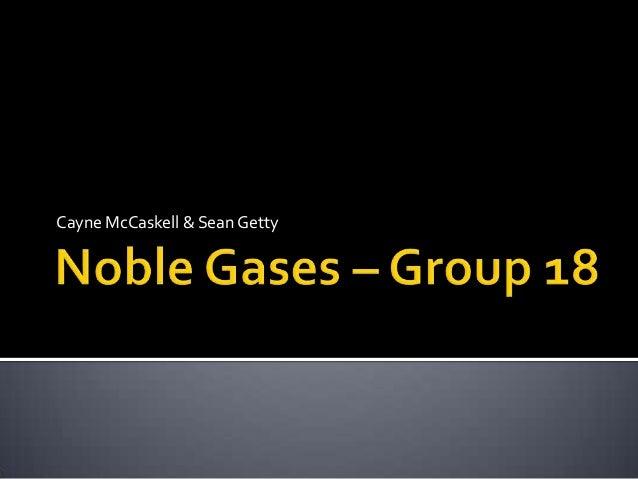Cayne McCaskell & Sean Getty