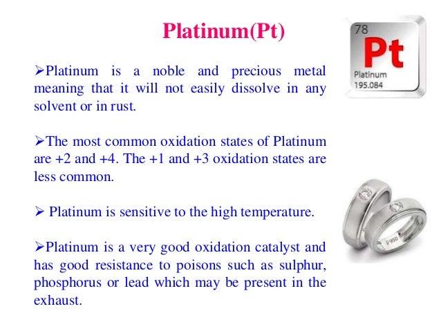 Noble metal to nobel prize