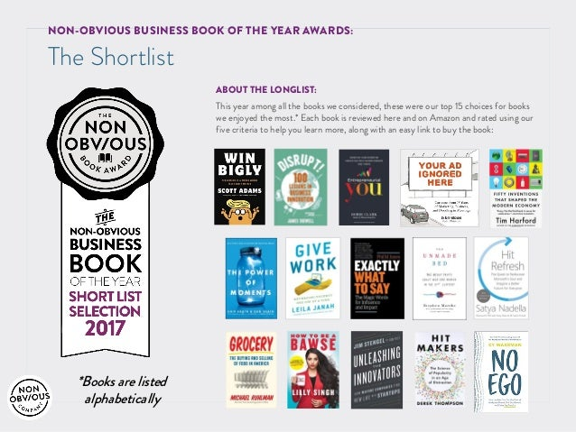 Amazon Top 5 Business Books Of 2017 — TTCT