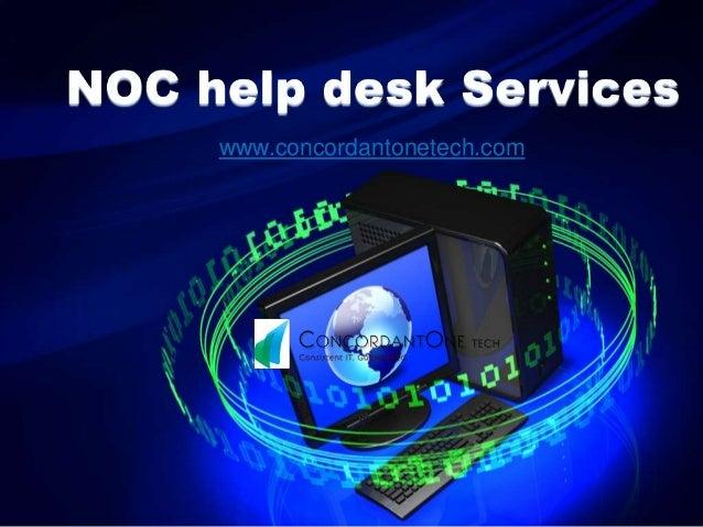 Noc Help Desk Services