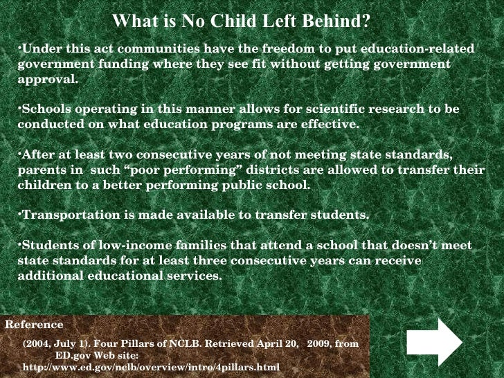 no child left beh More americans think the no child left behind act has made us public  education worse rather than better, by 29% to 16%, with similar.