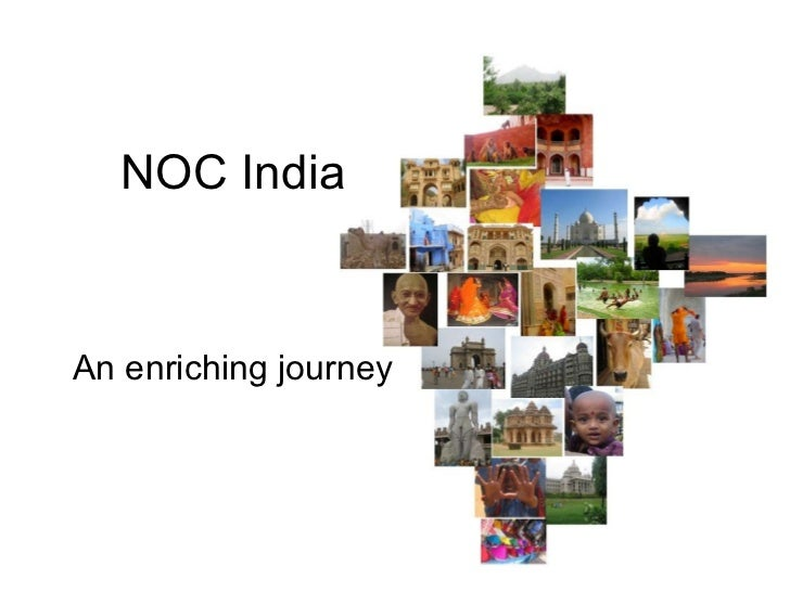 NOC India An enriching journey
