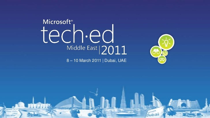 Creating No-Code BCS Solutions in SharePoint 2010 and Office 2010–From TechEd Middle East 2011