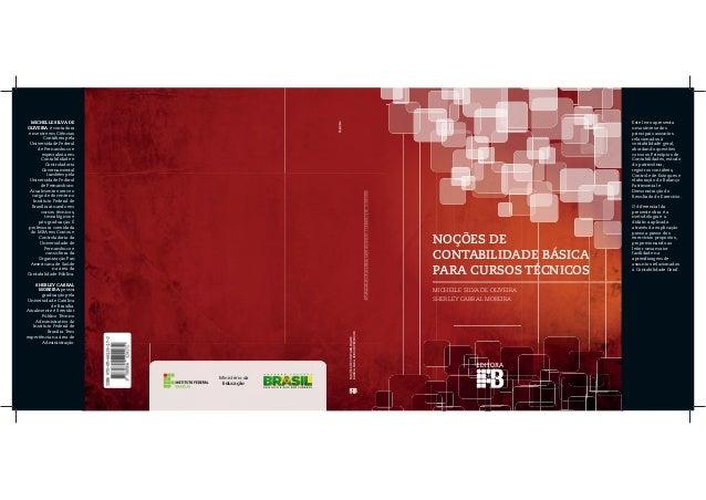 Ministério da Educação NOÇÕES DE CONTABILIDADE BÁSICA PARA CURSOS TÉCNICOS NOÇÕESDECONTABILIDADE BÁSICAPARACURSOSTÉCNICOS ...