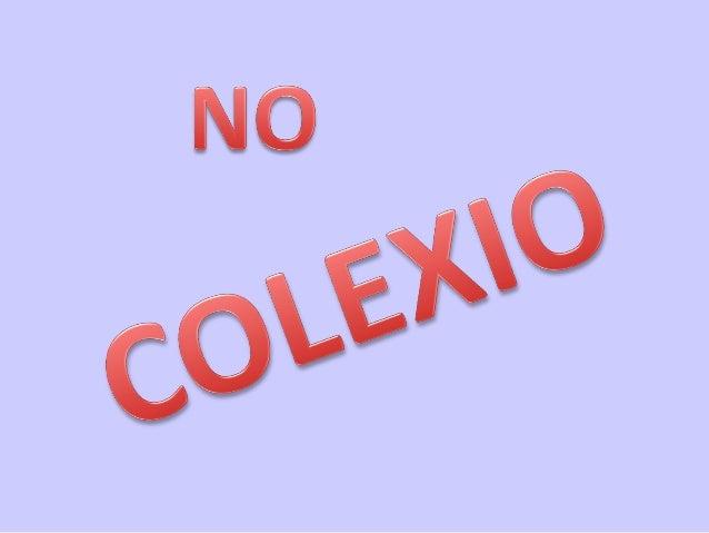 No colexio
