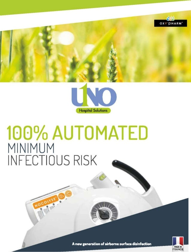 Nocospray Disinfection Product | UNO Hospital Solutions