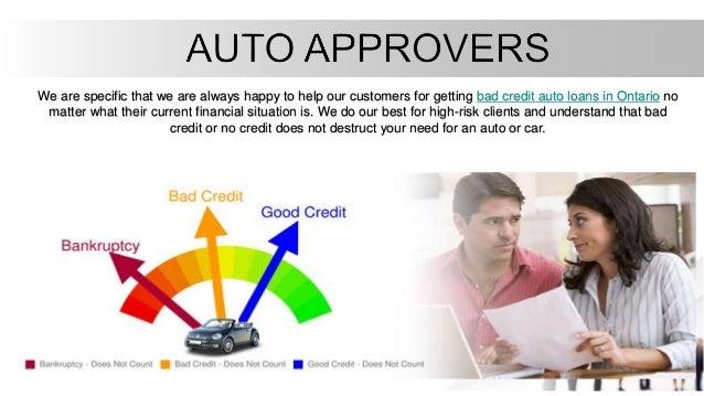 No Credit Car Loans >> No Credit Auto Loans Ontario