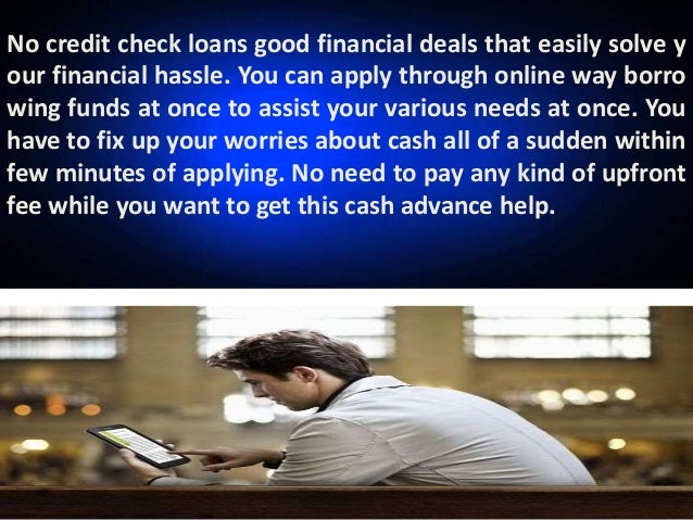 No Credit Check Loans - Designed For Online Cash Help without No Coll…